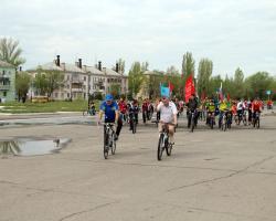 Велопробег, посвященный Дню города