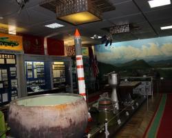 В музее полигона