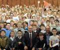 Юная знаменская звездочка в Сводном детском хоре России