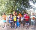 9 сентября в Доме культуры ж/р «Знаменский» прошла спортивная программа для детей «Эстафетный день»
