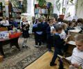 """Ученики 1 """"Б"""" класса СОШ 234 стали читателями младшего отдела Центральной библиотеки"""